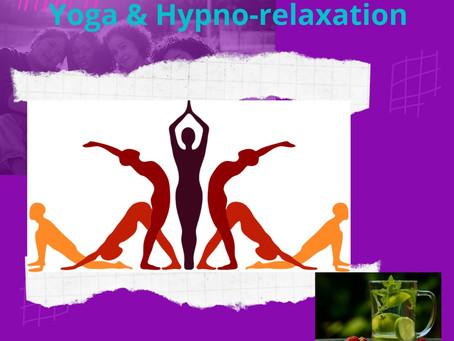 Samedi 17 avril de 14h / 17h. Yoga & Hypno-relaxation. Après-midi cocooning. avec Delphine & Corin