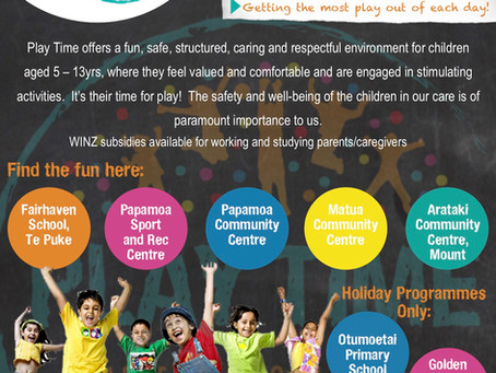 Before and After School Care bookings for our new sites are live now!