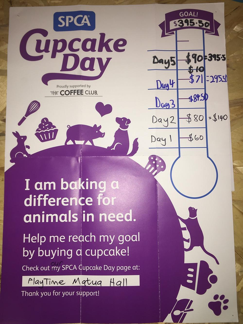 PlayTime Matua Hall - SPCA Cupcake Day