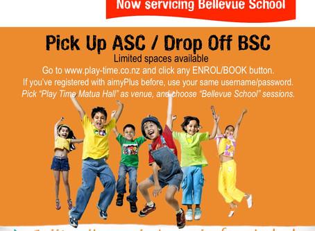 Bellevue School Service Pick Up / Drop Off