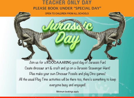 Teacher Only Day programme - 3 July