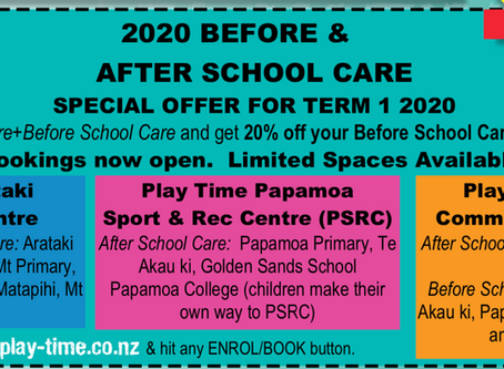 Term 1 Promotion:  Arataki and Papamoa Centres