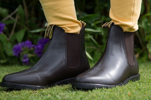 Gallop Lifestyle Leather Jodhpur Boots