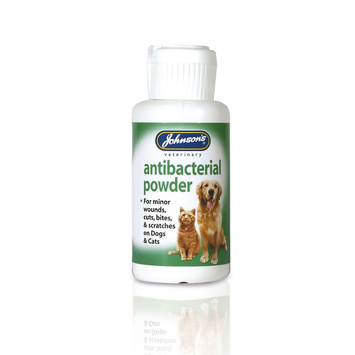Johnson's Antibacterial Wound Powder For Cats & Dogs