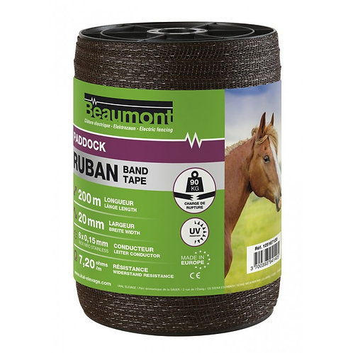 Beaumont Brown Electric Fence Tape