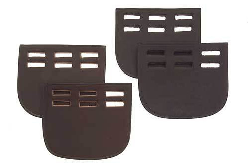 Leather Girth Guards from Nelsons equestrian