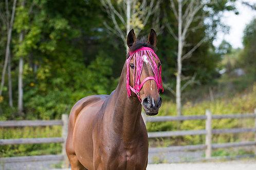 Horze Fly Fringe Pink