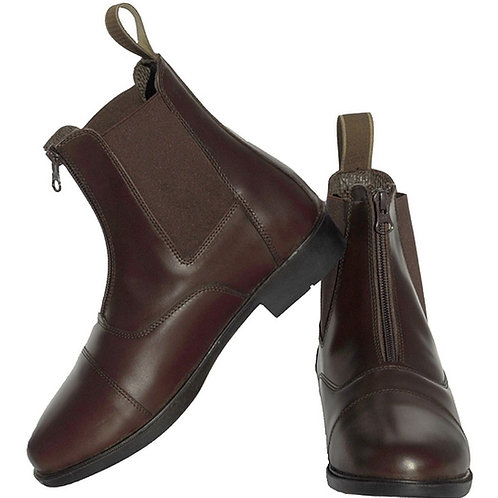Rhinegold Boston Zip Up Paddock Boots