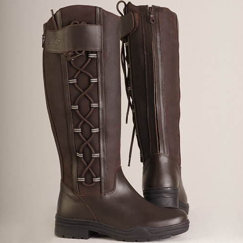 Gallop Gateley Long Leather Country Boots
