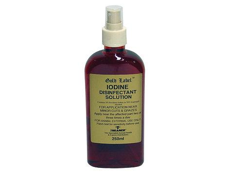 Gold Label Iodine Spray 250ml