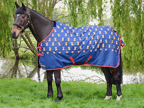 Hy Equestrian Storm X Fraser The Fox 100g Turnout Rug