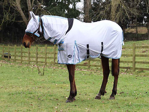 All In One Combo Fly Rug With mask
