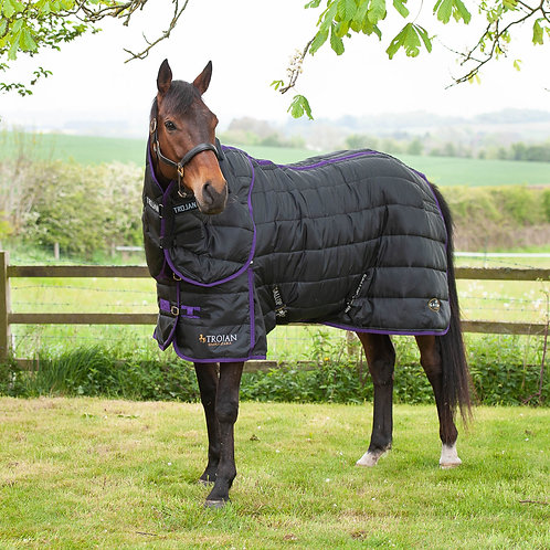 Gallop Trojan Dual Stable Rug And Neck Cover Set