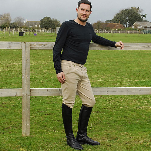 Rhinegold Mens Essential Traditional Breeches