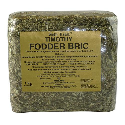 Gold label Timothy Fodder Brick