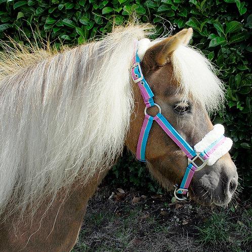 Rhinegold Fur Lined Pony Headcollar