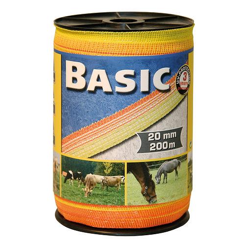 Corral Basic Electric Fence tape Yellow/Orange