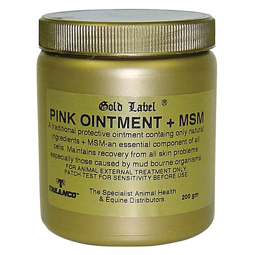 Gold Label Pink Ointment + MSM - 200g
