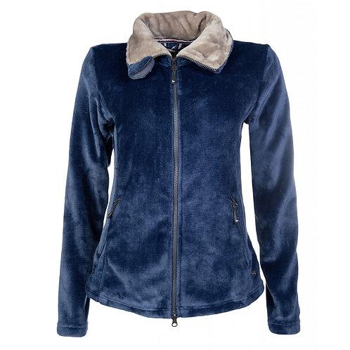 HKM Soft Fleece Jacket Deep Blue