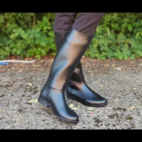 Long Rubber Riding Boots