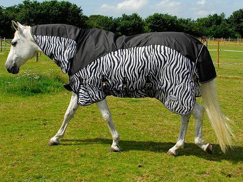 Rhinegold Masai 2 combo outdoor fly rug with waterproof topline