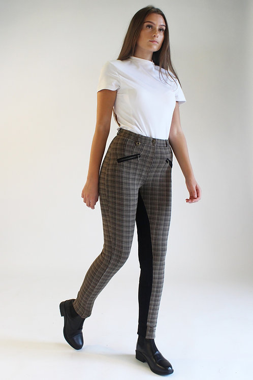 New Oxford Check Jodhpurs
