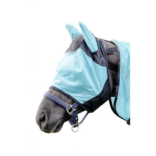HKM Fly Mask Aqua