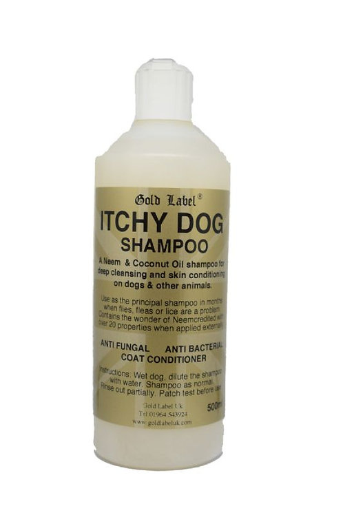 Gold Label Itchy Dog Shampoo