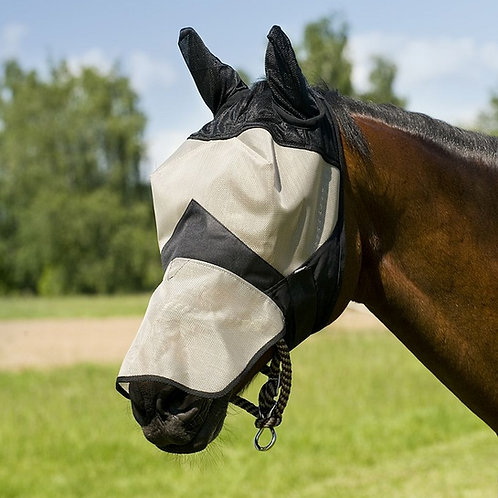 Full Face Fly Mask - Shetland Pony Size