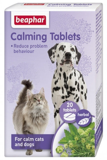 Beaphar Dog And Cat Calming Tablets - Reduce Problem Behaviour