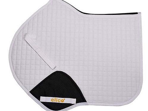 Elico Islington Close Contact Saddle Pad White