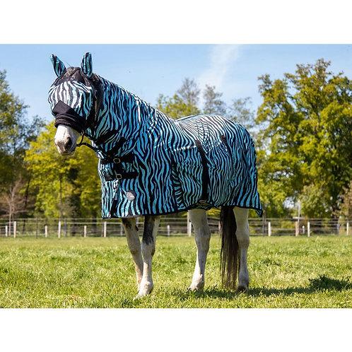 HKM Zebra Combo Full Neck Zebra Horse Fly Rug