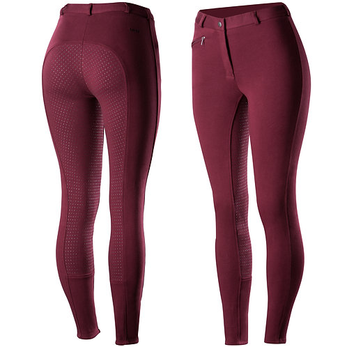 Horze Womens Active Silicone Grip Full Seat Breeches