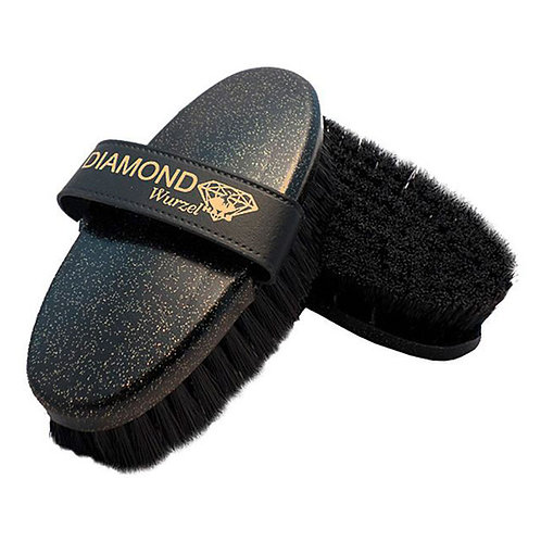 Haas Diamond Wurzel Brush For Horse Grooming