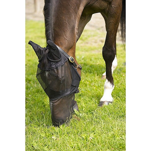 Full Face Fly Mask - Black