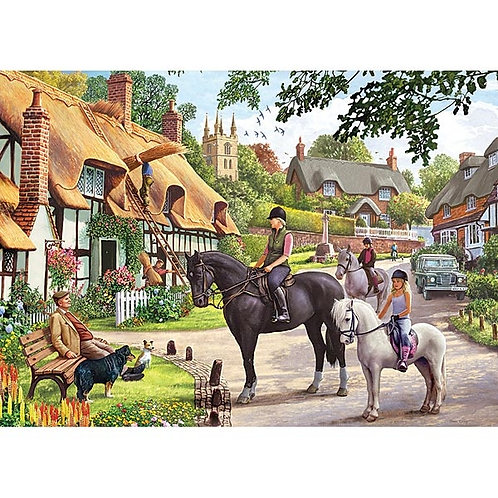 Country Life Jigsaw - 1000 Piece