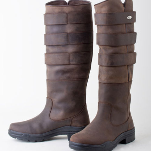 Rhinegold Colorado Elite leather Country Boots