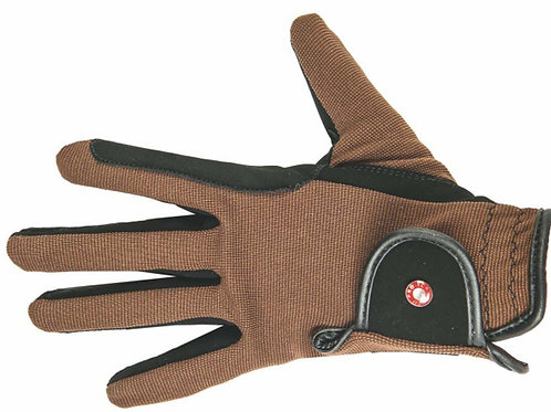 HKM Riding Gloves Professional Nubuck Look