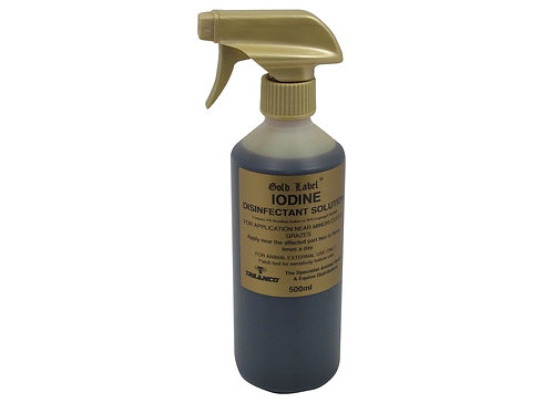 Gold Label Iodine Spray 500ml