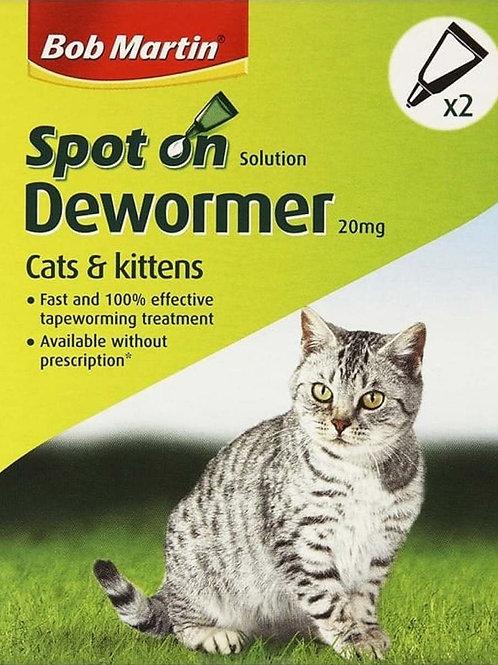 Bob Marton Spot On Dewormer For Cats & Kittens