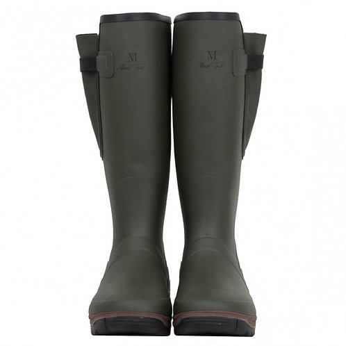 Mark Todd Unisex Neoprene Lined Wellington Boots - Green