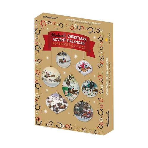 Lincoln Thelwell Horse Christmas Advent Calendar