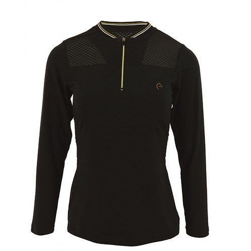Equitheme Long Sleeved Zipped Base Layer