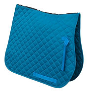 rhinegold cotton quilted saddle cloth to