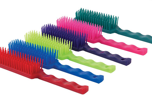 Harlequin Tangle Wrangler Horse Grooming Comb
