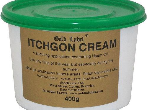 GOld Label Itchgon Cream 400g www.nelsonsequestrian