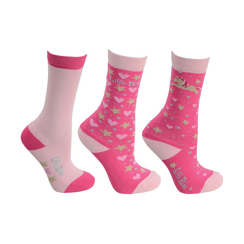 Little Rider Show Pony Socks - Pack of 3 Pairs