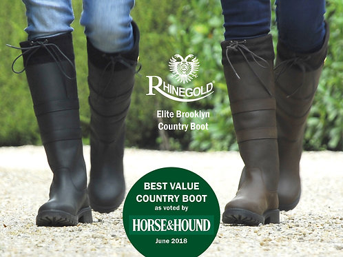 Rhinegold Elite Brooklyn Country Boots