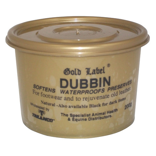 Gold Label Dubbin Leather Care