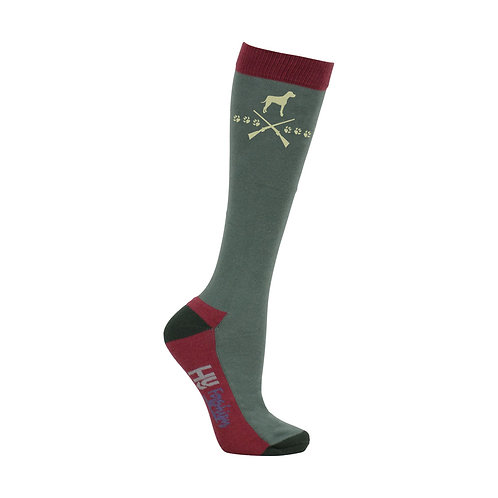 Fox and Hound Long Riding Socks